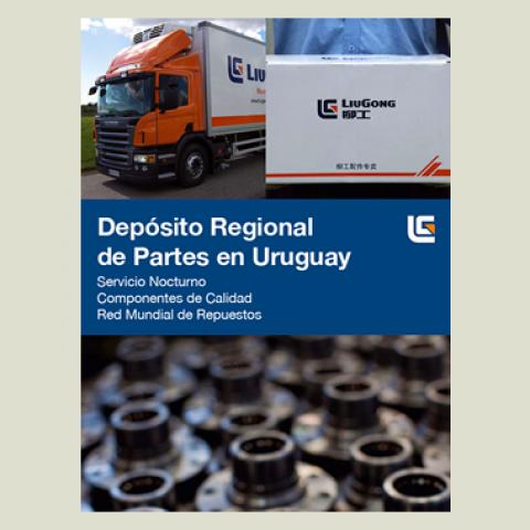 LiuGong inaugura centro de distribuição no Uruguai
