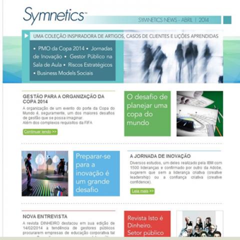 Symnetics publica nova newsletter com os destaques de suas atividades