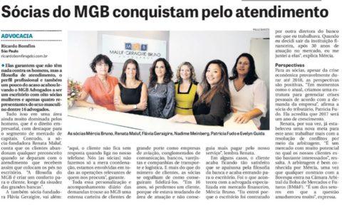 MGB Advogados em destaque nas mídias do DCI