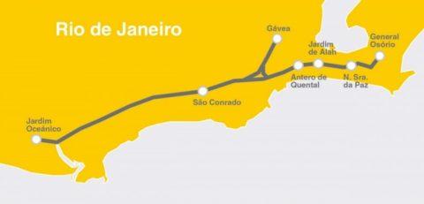 Kapsch CarrierCom forneceu a rede de radiocomunicação para a linha do metrô do Rio de Janeiro para o início dos Jogos Olímpicos 2016