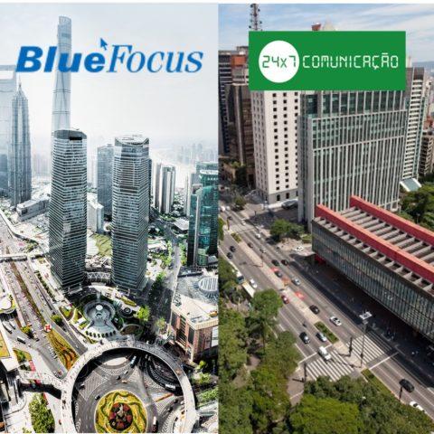 BlueFocus International escolhe a 24×7 Comunicação como parceira para PR, conteúdo digital e serviços de comunicação
