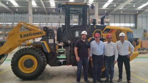LiuGong nomeia a empresa Sisler como distribuidor exclusivo no Uruguai