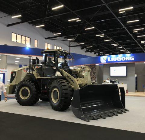 LiuGong reforça presença nacional com seus equipamentos pesados durante a M&T Expo 2018